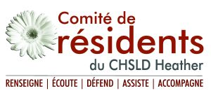 Logo du comité des résidents du CHSLD Heather